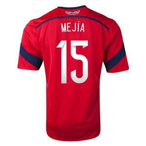 Colombia 2014 MEJIA Away Soccer Jersey