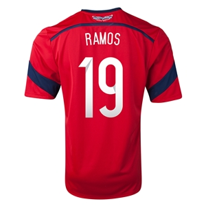 Colombia 2014 RAMOS Away Soccer Jersey