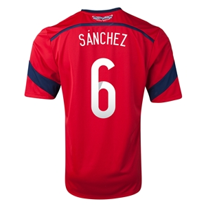 Colombia 2014 SANCHEZ Away Soccer Jersey