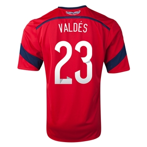 Colombia 2014 VALDES Away Soccer Jersey