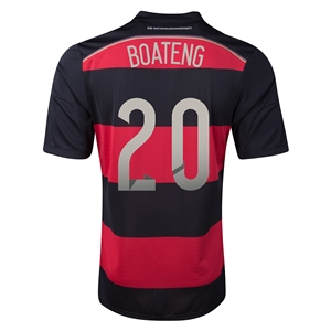 Germany 2014 BOATENG Away Soccer Jersey