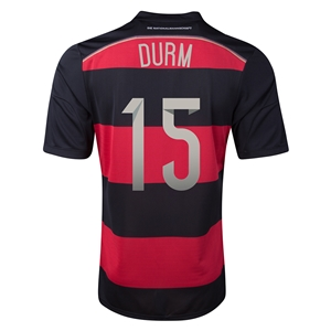 Germany 2014 DURM Away Soccer Jersey