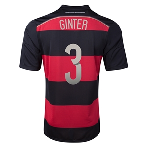 Germany 2014 GINTER Away Soccer Jersey