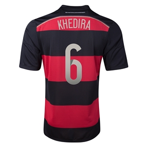 Germany 2014 KHEDIRA Away Soccer Jersey