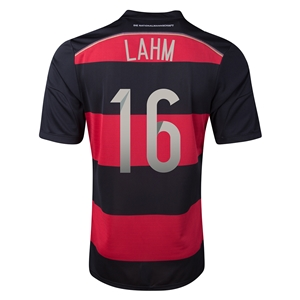 Germany 2014 LAHM Away Soccer Jersey
