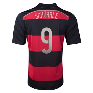 Germany 2014 SCHURRLE Away Soccer Jersey
