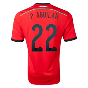 Mexico 2014 P AGUILAR Away Soccer Jersey