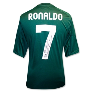 Icons Cristiano Ronaldo Signed Real Madrid Away Shirt