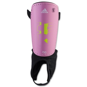 adidas F50 Youth Shinguard (Pink Zest)