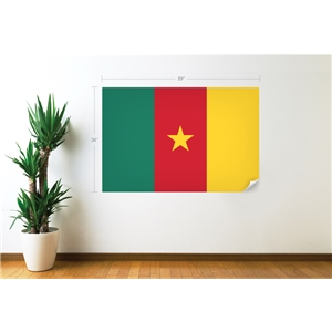Cameroon Flag Wall Decal