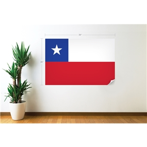 Chile Flag Wall Decal