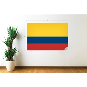 Colombia Flag Wall Decal