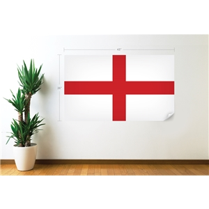 England Flag Wall Decal
