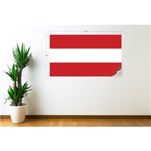 Austria Flag Wall Decal