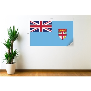 Fiji Flag Wall Decal
