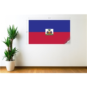 Haiti Flag Wall Decal