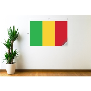 Mali Flag Wall Decal