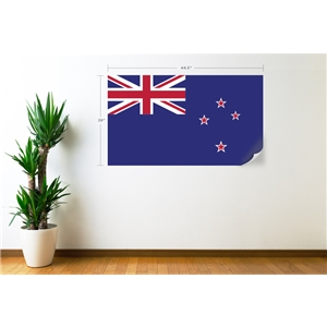 New Zealand Flag Wall Decal