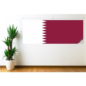 Qatar Flag Wall Decal