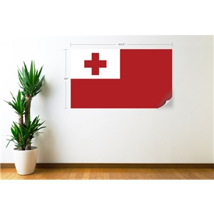 Tonga Flag Wall Decal