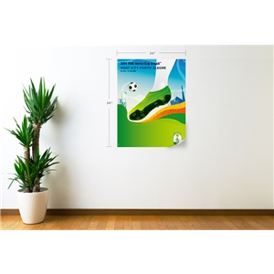 Porto Alegre 2014 FIFA World Cup Host City Poster Wall Decal