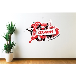 Germany 2014 FIFA World Cup Celebration Wall Decal