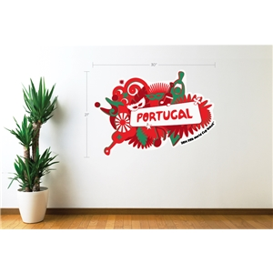 Portugal 2014 FIFA World Cup Celebration Wall Decal