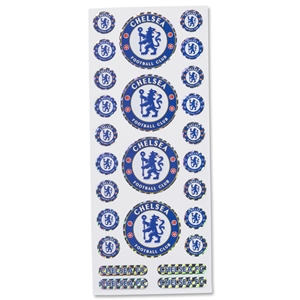Chelsea Crest Stickers