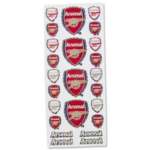 Arsenal Crest Sticker Set