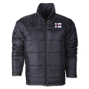 Faroe Islands Flag Polyfill Puffer Jacket