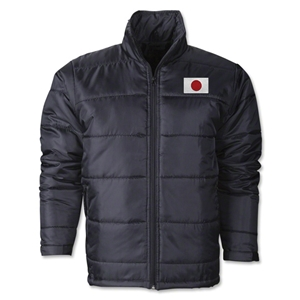 Japan Flag Polyfill Puffer Jacket