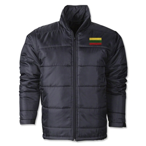 Lithuania Flag Polyfill Puffer Jacket