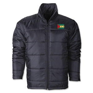 Sao tome & Principe Flag Polyfill Puffer Jacket
