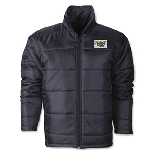 US Virgin Islands Flag Polyfill Puffer Jacket