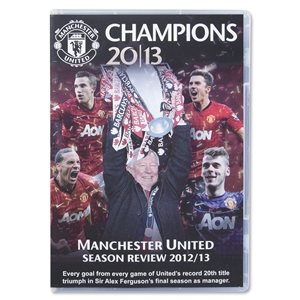 Manchester United Champions 2013 Official Season Review DVD