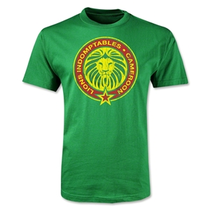 Cameroon Indomitable Lions T-Shirt (Green)