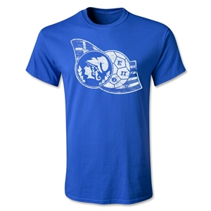 Greece Hellenic Football T-Shirt (Royal)