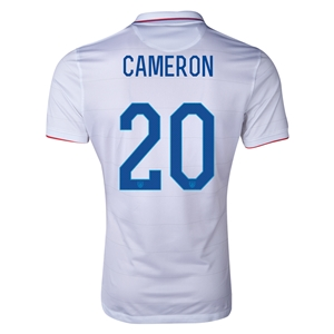 USA 14/15 CAMERON Authentic Home Soccer Jersey