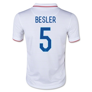USA 14/15 BESLER Youth Home Soccer Jersey