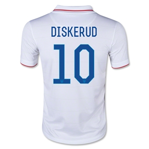 USA 14/15 DISKERUD Youth Home Soccer Jersey