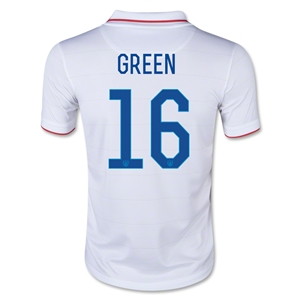 USA 14/15 GREEN Youth Home Soccer Jersey