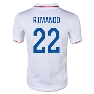 USA 14/15 RIMANDO Youth Home Soccer Jersey