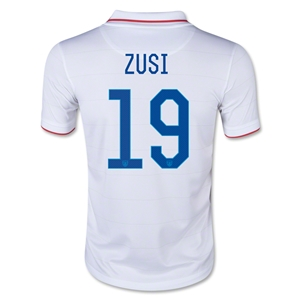 USA 2014 ZUSI Youth Home Soccer Jersey