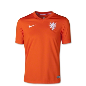 Netherlands 14/15 Youth Home Soccer Jersey