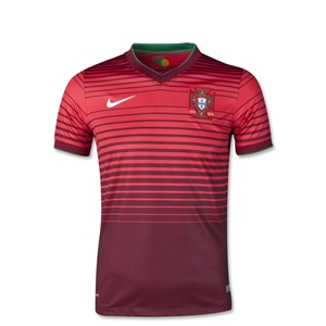 Portugal 2014 Youth Home Soccer Jersey