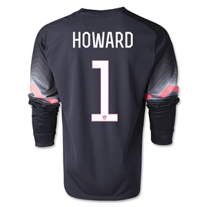 Nike HOWARD LS Goleiro Goalkeeper Jersey