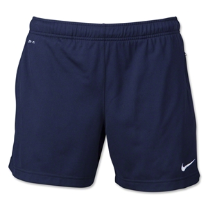 Nike Women's Libero 14 Longer Knit Short (Navy)