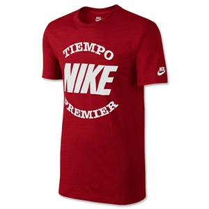 Nike Tiempo T-Shirt (Red)