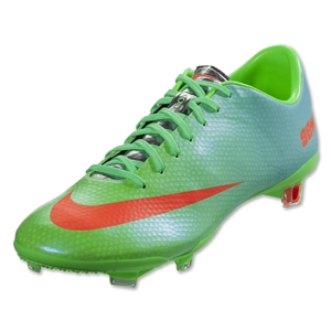 Nike Mercurial Vapor IX FG (Neo Lime/Metallic Silver/Polarized Blue)