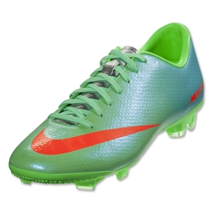 Nike Mercurial Victory IV FG (Neo Lime/Metallic Silver/Polarized Blue)